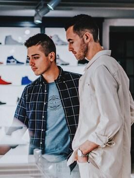 「H&M Denim Jacket(H&M)」 using this Alex & Mike looks