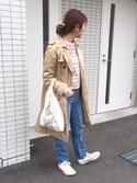 すぎこさんの「ミニマルシェバッグ / Mini Marche Bag(TODAY'S SPECIAL トゥデイズスペシャル)」を使ったコーディネート