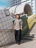 TORU IZAWA (W.D.T)さんの「UCR4A09-1(UNDERCOVER|アンダーカバー)」を使ったコーディネート
