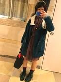 ナミキ   モエさんの「リーフバックカチューシャ(queite|ケイト)」を使ったコーディネート