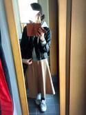 Hashi☆さんの「べっ甲しずく型ピアス(queite|ケイト)」を使ったコーディネート