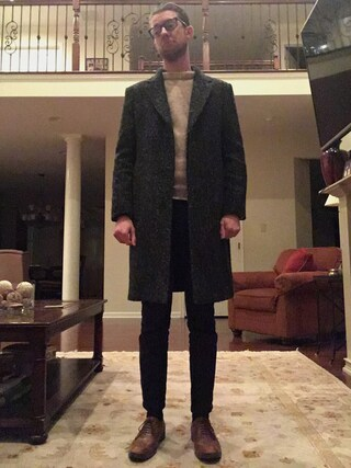 「wings + horns Westpoint Twill Chino(Wings + Horns)」 using this Mat looks