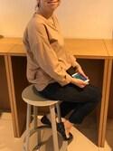 suzumeguさんの「キモウタイプライターVPO 731397(apart by lowrys|アパートバイローリーズ)」を使ったコーディネート