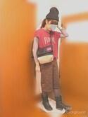 たしこさんの「裏起毛タイトスカート(CIAOPANIC TYPY|チャオパニックティピー)」を使ったコーディネート