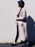 UEMURA   AYANOさんの「スリッパサンダル(N.(N. Natural Beauty Basic)|エヌ(エヌ ナチュラルビューティーベーシック))」を使ったコーディネート