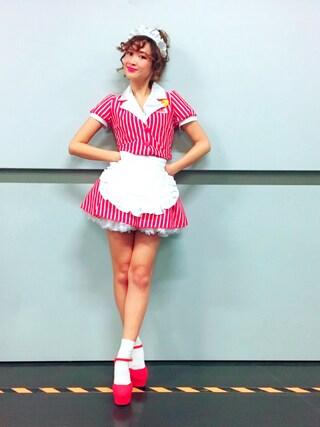 紗栄子さんの(sweet collection)を使ったコーディネート