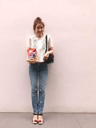 「KEX VINTAGE(ACNE)」 using this 紗栄子 looks