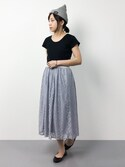 ayumiさんの「UネックTEE◇(SHIPS for women|シップスフォーウィメン)」を使ったコーディネート