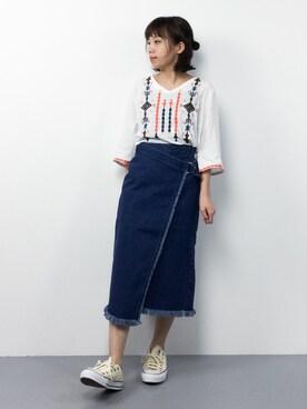 ZOZOTOWN ayumiさんの(FREE'S MART フリーズマート)を使ったコーディネート