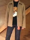 NORIさんの「FOX HEAD PULLOVER(MAISON KITSUNE アー・ペー・セー)」を使ったコーディネート