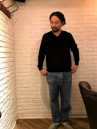(Levi's) using this Marichi|向後 聡史 looks