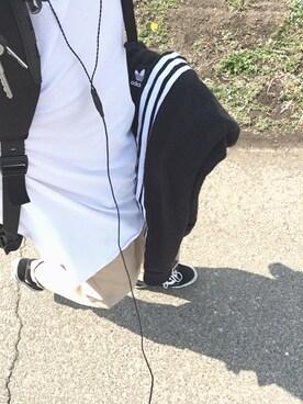 ケンタさんの(adidas|アディダス)を使ったコーディネート