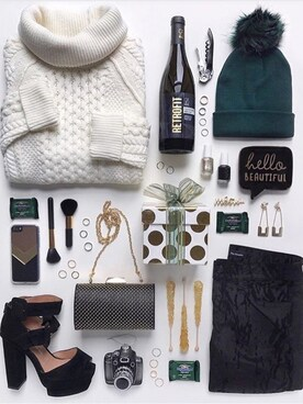 (FOREVER 21) using this FLATLAY looks