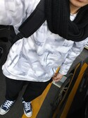 RIKUYA∞さんの「【ZOZO限定】 STUDIOUS ローゲージウォームニットスヌード(STUDIOUS|ステュディオス)」を使ったコーディネート
