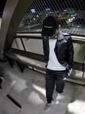 「adidas 'Tiro 15' Slim Fit CLIMACOOL® Training Pants(adidas)」 using this Hiroki Toda looks