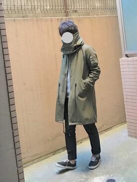 ワンロクさんの(TAKEO KIKUCHI|タケオキクチ)を使ったコーディネート