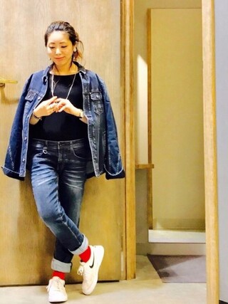 Ms.ガチャ子☺︎さんの「『 FINEBOYS 11月号掲載 』コーデュロイファーブルゾン(HIDEAWAYS NICOLE|ハイダウェイ ニコル)」を使ったコーディネート