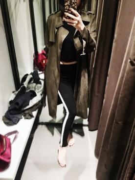 Cathy_Ha is wearing ZARA