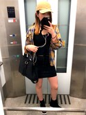 shio♡さんの「ヴィンテージチェックシャツ(GYDA|ジェイダ)」を使ったコーディネート