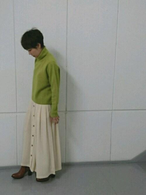 SAKI___Oさんの「タートルプルオーバー(ADAM ET ROPE')」を使ったコーディネート