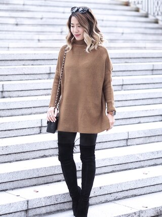 「Stuart Weitzman Highland Over the Knee Boots(Stuart Weitzman)」 using this slammy looks