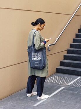 「Converse CANVAS ALL STAR JOX(CONVERSE)」 using this vasitii looks