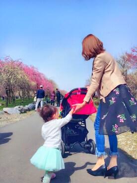 ★airi.ss★♡♡さんの(babyGAP|babyGAP)を使ったコーディネート