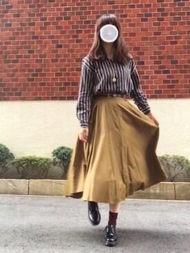 千夜さんの「KBF+ エイトパーツスカート(KBF+)」を使ったコーディネート