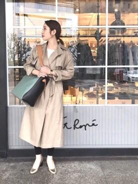 ADAM ET ROPE' 三宮OPA|airi yukiさんの(Traditional Weatherwear|トラディショナルウェザーウェア)を使ったコーディネート