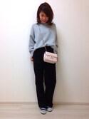 Y u k a ☺︎さんの「キルティングチェーンバッグ【PLAIN CLOTHING】(PLAIN CLOTHING|プレーンクロージング)」を使ったコーディネート