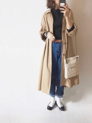 「【35-38】BALLERINA / CENDRILLON (NAPPA CALFSKIN / White, Black)(repetto)」 using this san looks