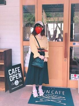あゆみさんの(カオリノモリ|カオリノモリ)を使ったコーディネート