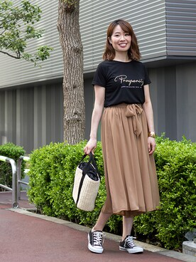 NATURAL BEAUTY BASIC|NBB STAFF17さんの「【JJ 5月号掲載】【and GIRL 6月号掲載】メタルワイドバングル(NATURAL BEAUTY BASIC)」を使ったコーディネート