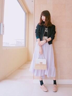 (FOREVER 21) using this nana.なな looks