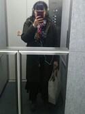 ayako.oさんの「エステルスパンスカーチョ 737623(apart by lowrys アパートバイローリーズ)」を使ったコーディネート