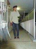 「A.P.C. Petit New Standard Brut(A.P.C.)」 using this りいち looks