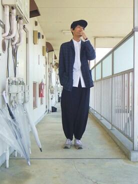 りいちさんの(KIJIMA TAKAYUKI|キジマ タカユキ)を使ったコーディネート