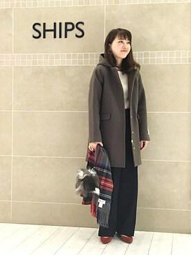SHIPS グランフロント大阪店|遠嶋さんのコーディネート