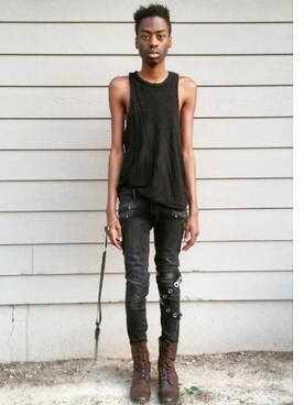 (Balmain) using this Cameron Clark looks