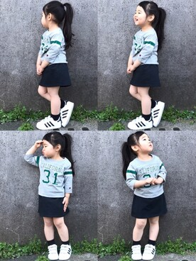hanamenさんの(adidas|アディダス)を使ったコーディネート