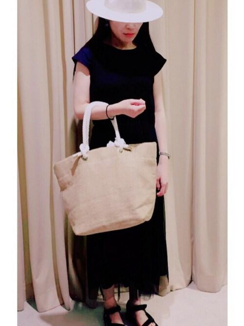takakoさんの「【SOLPRESA】WOMENS トートバッグ(SOLPRESA)」を使ったコーディネート