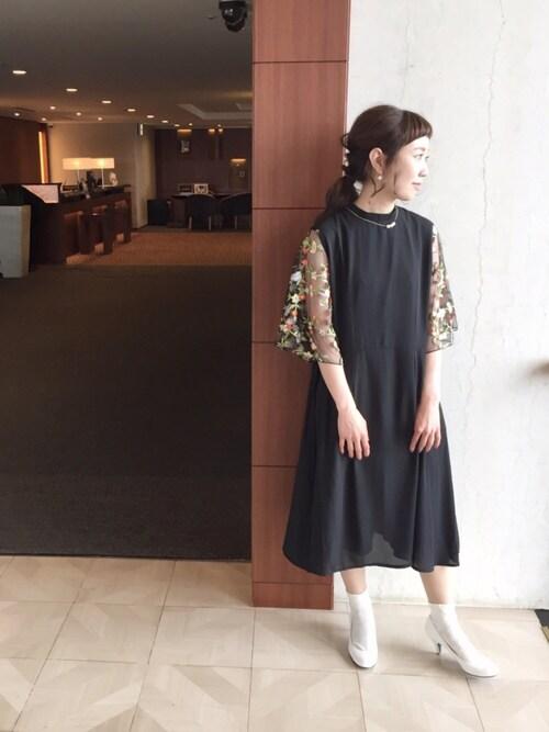 結婚式 服装 ママコーデ