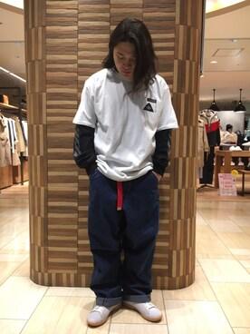 BEAVER名古屋店|伊藤さんの(POLeR OUTDOOR STUFF|ポーラーアウトドアスタッフ)を使ったコーディネート