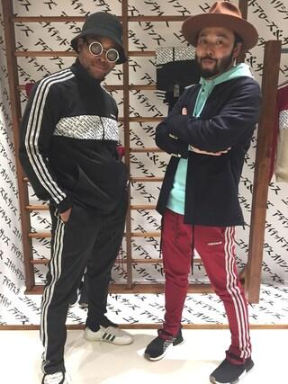 "Motofumi""Poggy""Kogiさんの「<adidas Originals by UNITED ARROWS & SONS>TRACK SUITS(adidas originals|アディダスオリジナルス)」を使ったコーディネート"