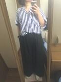 112233☆♪さんの「袖ロールシャツ(cepo|セポ)」を使ったコーディネート