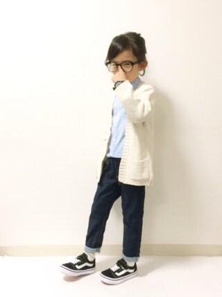 kannn さんの「BABY RIB STRAIGHT PANTS(Lee リー)」を使ったコーディネート