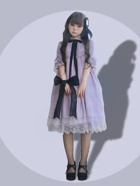 三茶さんの(Angelic Pretty Angelic Pretty)を使ったコーディネート