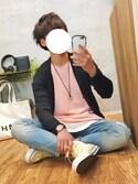 gakuさんの「スリムで少し背が高い ちょい置き細長テーブル(haco!|ハコ)」を使ったコーディネート