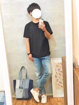 gakuさんの(adidas|アディダス)を使ったコーディネート