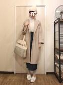 ma-chiさんの「靴下屋/涼感レギンス10分丈(靴下屋|クツシタヤ)」を使ったコーディネート